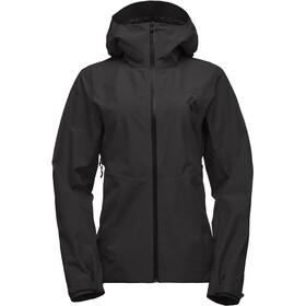 Black Diamond Liquid Point Chaqueta Shell Mujer, black